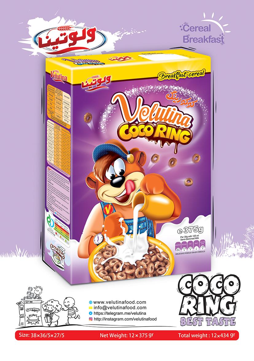 سریال صبحانه کوکو رینگ | breakfast cereal coco ring