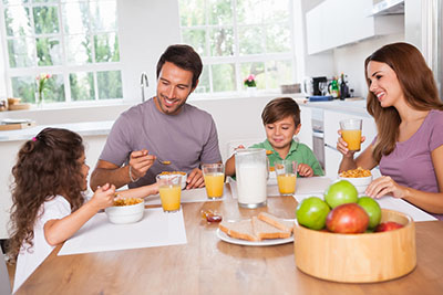 سریال صبحانه ولوتینا در کنار خانواده