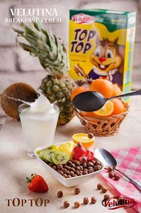 سریال صبحانه توپی با روکش کاکائو
